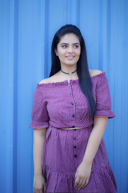 Anchor Sreemukhi Latest Photos in Julakataka TV Show