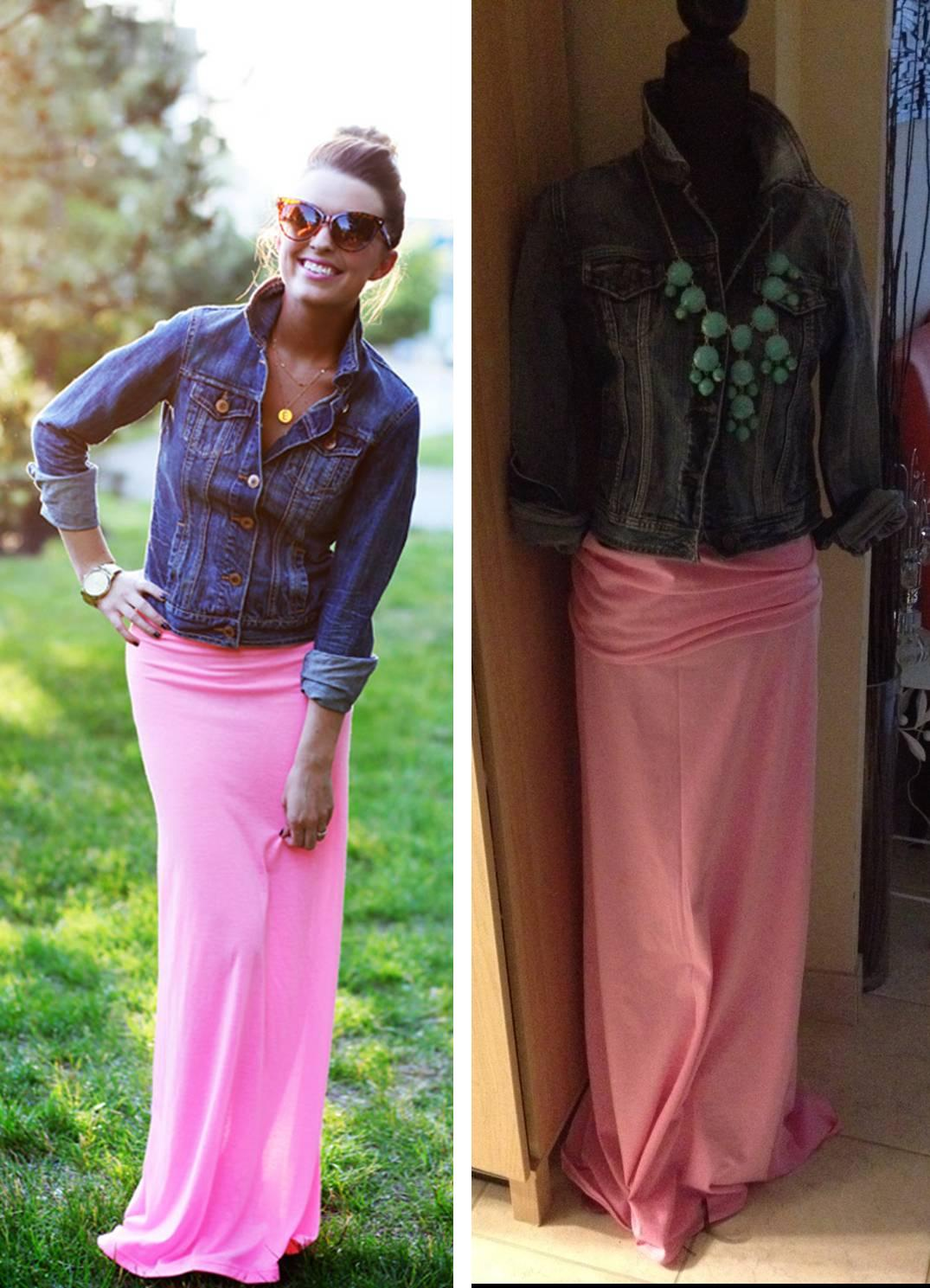 Diy Maxi Skirt Life With A Co By Amanda L Conquer