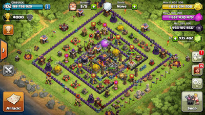 Download Thunderbolt COC - Clash of Clans Mod Apk Unlimited Gems