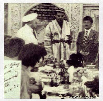 muhammad ali uzbekistan tour 1978, uzbekistan boxing sport