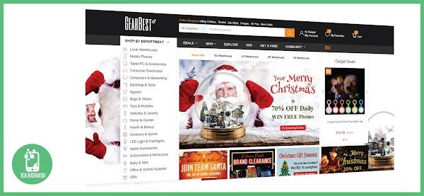 Aproveite as promoções de natal da GearBest!