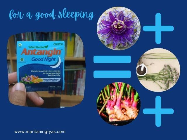 antangin good night dengan ekstrak herbal