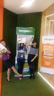 oxygen internet promotion girl bogor