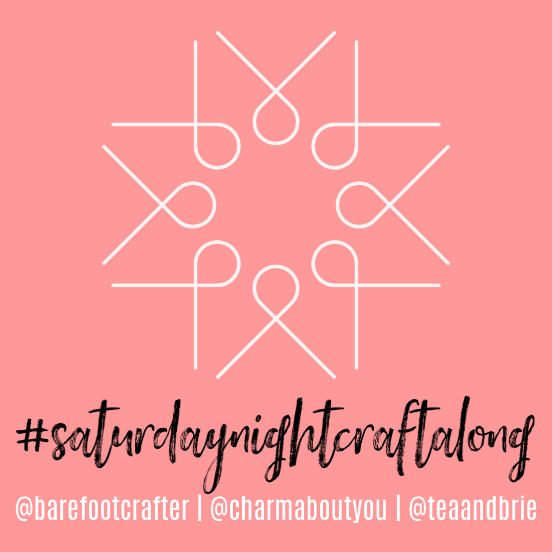 f.y.i. #saturdaynightcraftalong + joining the discussion