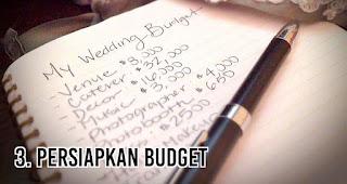Persiapkan Budget