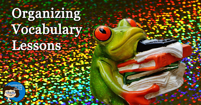 Organizing Vocabulary Instruction