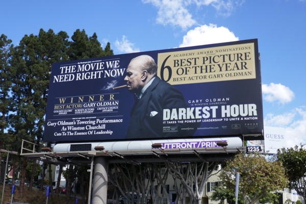 Darkest Hour movie billboard