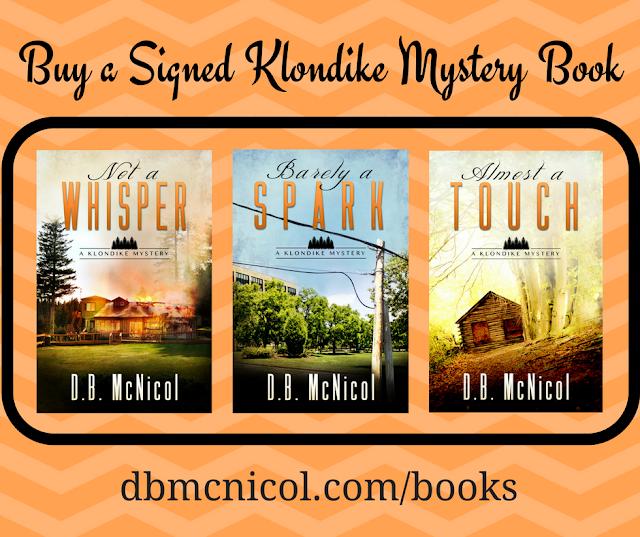 Order Signed Klondike Mystery Books!