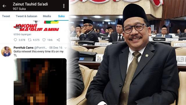 Akun Twitternya Nge-Like Konten Porno, Wakil Menteri Agama Zainut Tauhid Ngaku Diretas
