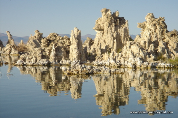 unusual formations at Mono Lake in Lee Vining in Eastern California