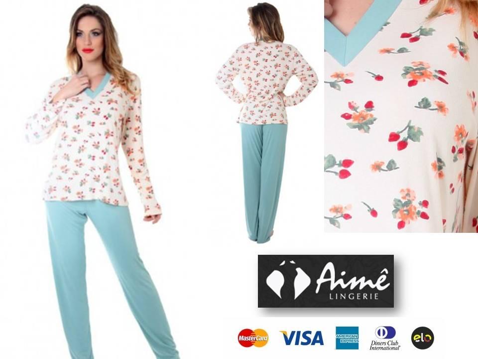 e5160e91f Encontre Pijama Feminino Aime no Mercado Livre Brasil. O seu estilo é você
