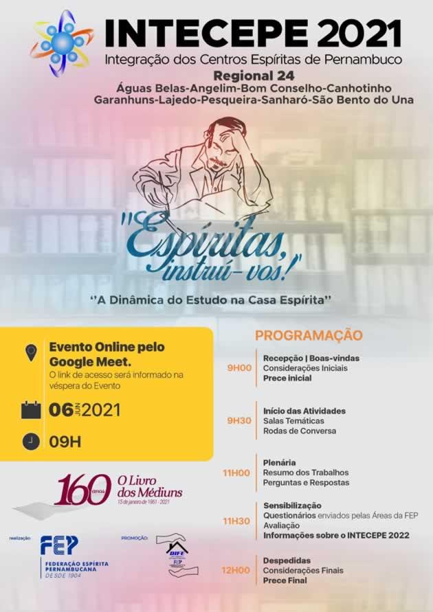 CEDE Joanna de Angelis participa do INTECEPE 2021