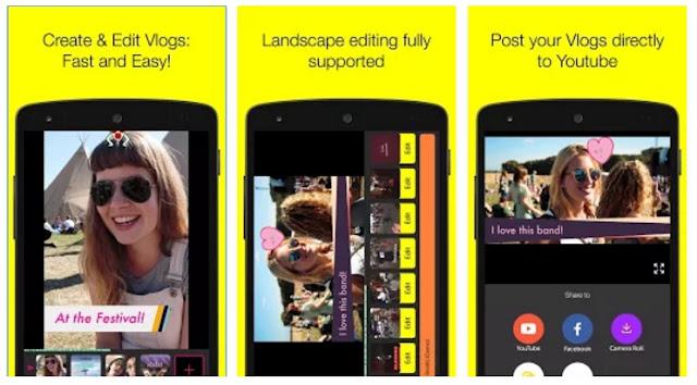 PocketVideo - aplikasi edit video untuk youtuber pemula