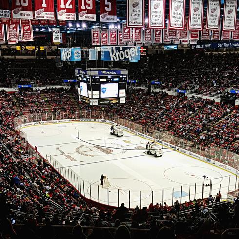 Joe Louis Arena Detroit Red Wings