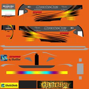 Livery Bussid Setiawan SR2 MDC