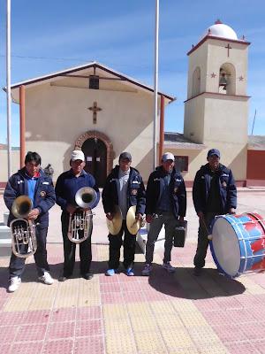 begleiteten unser großes Pfarrfest in San Pablo de Lipez