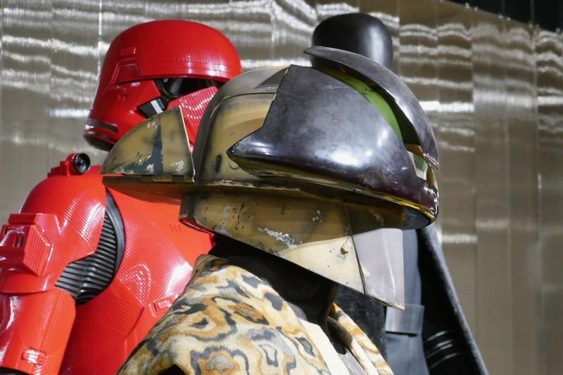 Star Wars Rise Skywalker Lando Calrissian costume helmet