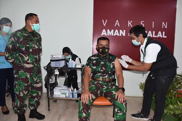 Vaksinasi Covid Tahap II, Pangdam  Pattimura: Respon Imun Telah Terbentuk