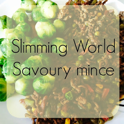 slimming world savory mince winter warmers