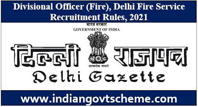 Delhi Fire Service Recruitment