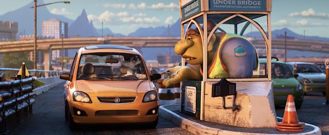 Pixar Onward troll bridge