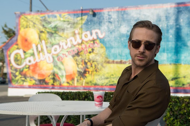 Ryan Gosling on the Set of La La Land