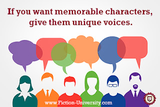 character voice, creating character voices, creating characters