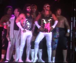 WCW / NWA Great American Bash 1989 -  Fabulous Freebirds and Samoan Swat Team