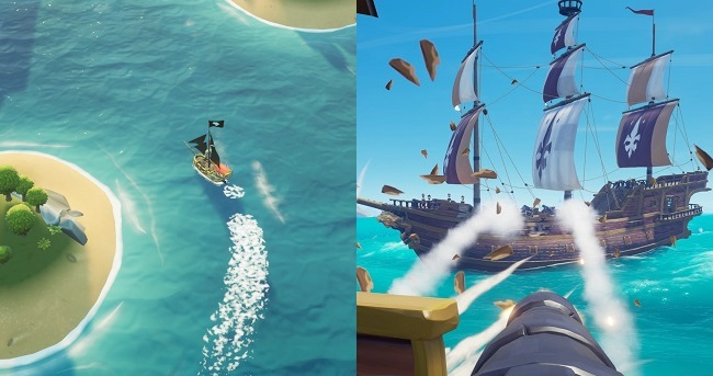 Differences of King of Seas vs Sea of Thieves