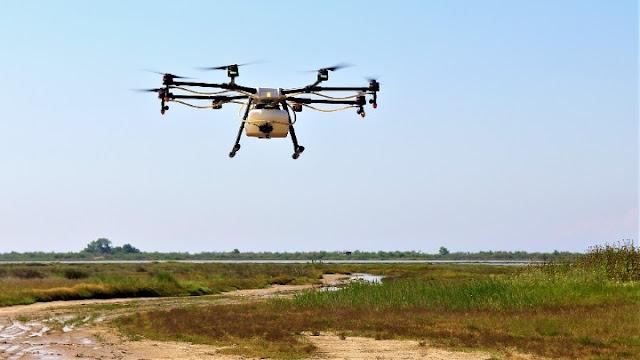 Drones εναντίον κουνουπιών σε όλη τη χώρα
