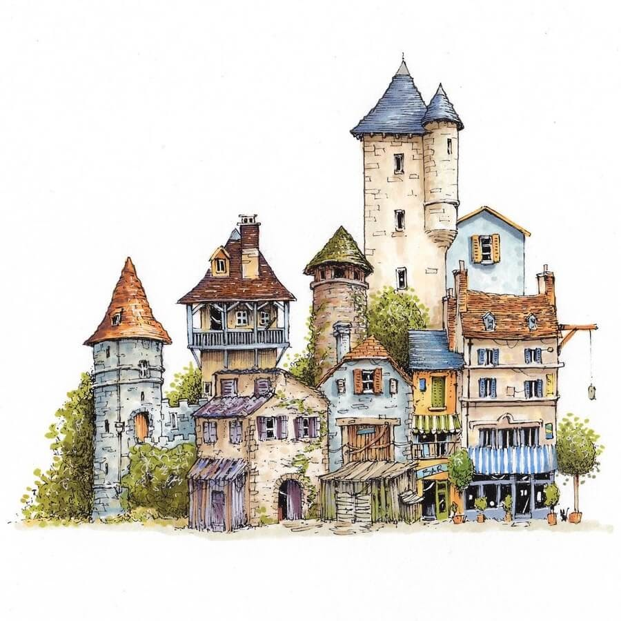 07-Little-French-town-Brian-brejanz-www-designstack-co