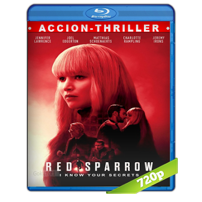 Operacion Red Sparrow (2018) BRRip 720p Audio Trial Latino-Castellano-Ingles 5.1
