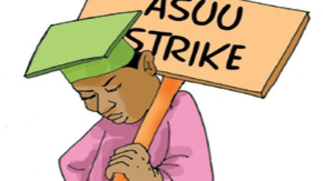 E DON HAPPEN!!! BREAKING: ASUU commences strike