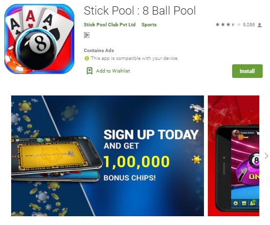 stick pool 8 ball pool best money earning app