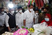 Tinjau Pasar Wonokromo, Mendag RI: Harga Sembako di Surabaya Terbaik se-Indonesia