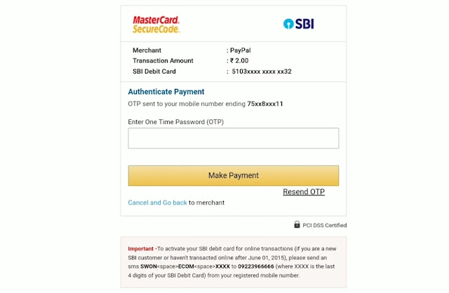 how to make paypal account india