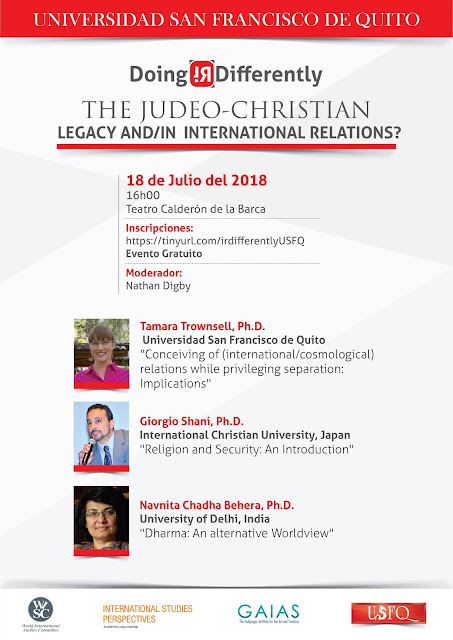 The Judeo-Christian Legacy and/in International Relations