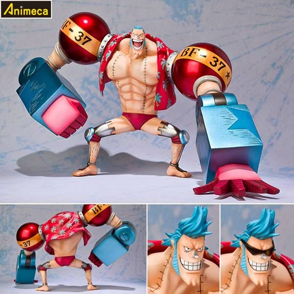FRANKY The New World Arc Ver. Figuarts ZERO FIGURE ONE PIECE BANDAI