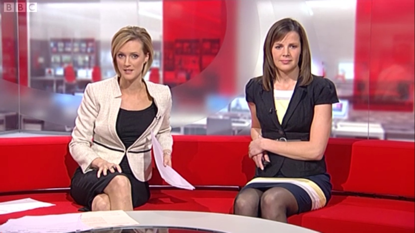 So then ........BBC News presenters .............would you ...