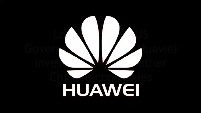 US Government banned Huawei