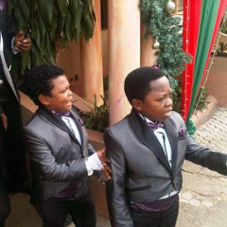 osita+white+wedding3 We Got Plenty Pictures from Chinedu Ikedieze Akis White Wedding