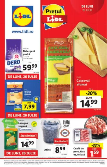 LIDL catalog brosura   26.07 - 01.08 2021