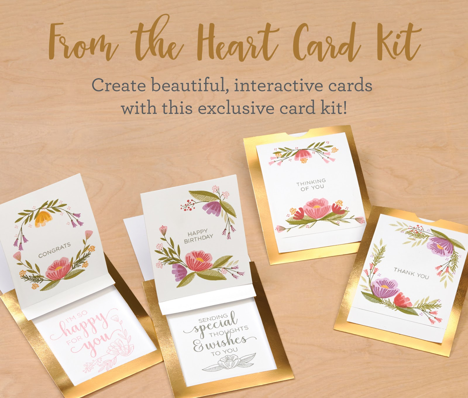 Creating With Christine From The Heart Interactive Card Kit