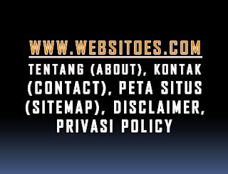 Tutorial Cara Membuat Halaman about contact sitemap disclaimer privacy policy di Blogger