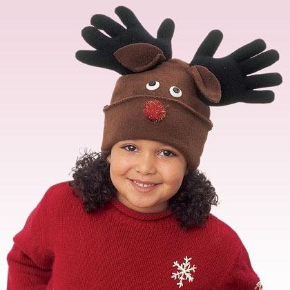 Reindeer Hat Christmas Craft