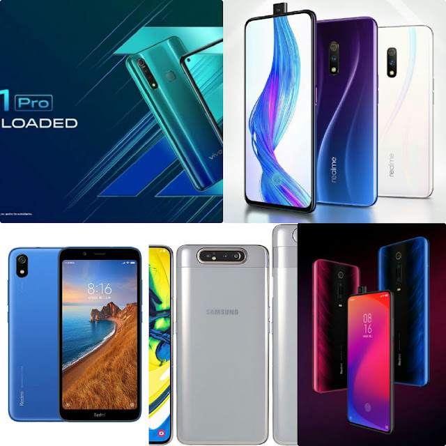 Realme X, Vivo Z1 Pro, Redmi K20  Which Smartphones Will Be Launched In India This Month