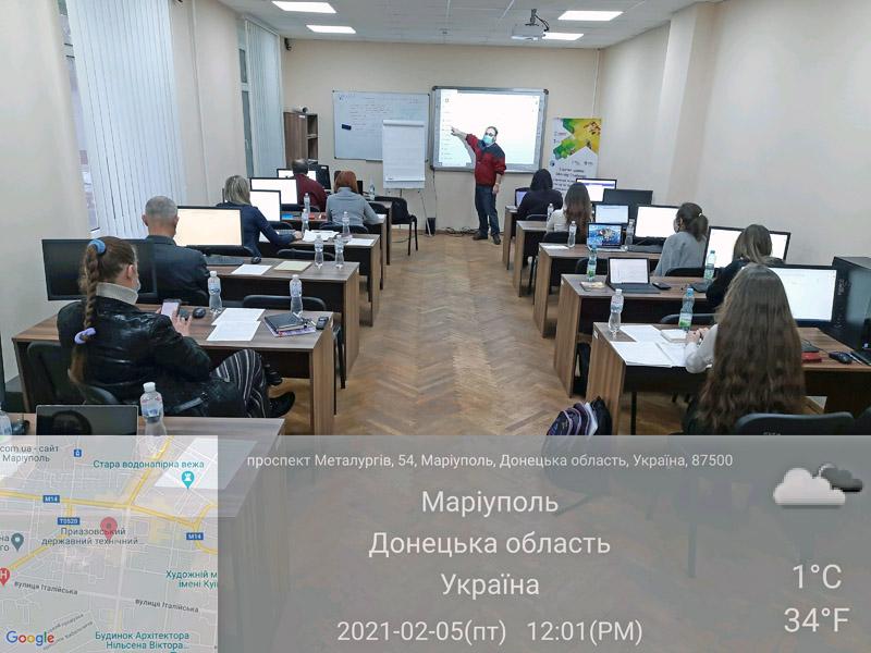 Валерий Пичко в ПДТУ (Мариуполь)   Валерій Пичко у ПДТУ (Маріуполь)