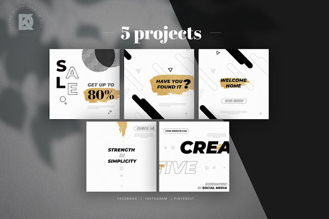 Sale %2526 Quote Social Media Pack