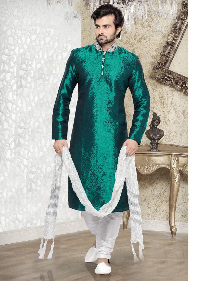 SalwarKameezOnlineShopping: Designer mens sherwani wholesale at ...