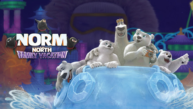 Norm of the North Family Vacation DVD
